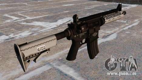 Automatische Carbine M4 VLTOR für GTA 4 Sekunden Bildschirm