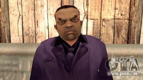 Toni Cipriani pour GTA San Andreas troisième écran
