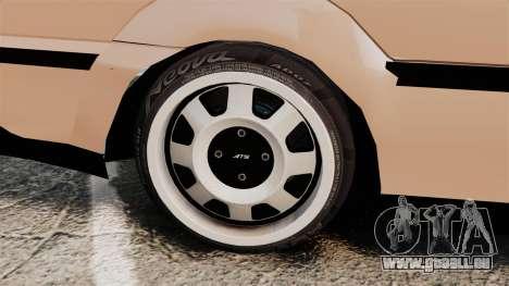 Volkswagen Saveiro G3 SuperSurf pour GTA 4 est une vue de l'intérieur