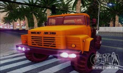 KrAZ 260v für GTA San Andreas obere Ansicht