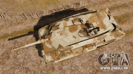 Leopard 2A7 für GTA 4 rechte Ansicht