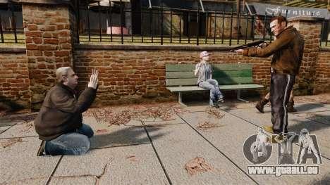 En otage pour GTA 4 troisième écran