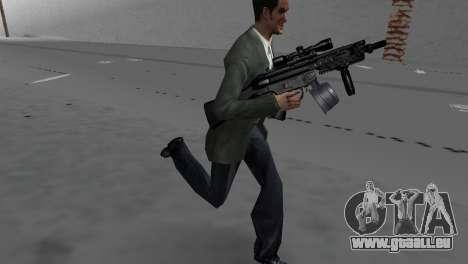 Custom MP5 GTA Vice City pour la troisième écran