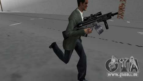 Custom MP5 für GTA Vice City dritte Screenshot
