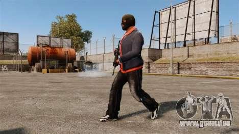 Franklin Clinton v2 pour GTA 4 troisième écran