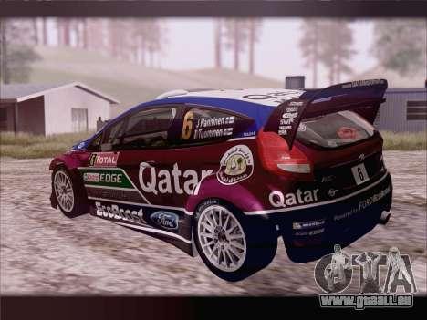 Ford Fiesta RS WRC 2013 für GTA San Andreas linke Ansicht