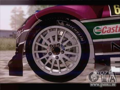 Ford Fiesta RS WRC 2013 für GTA San Andreas Innenansicht