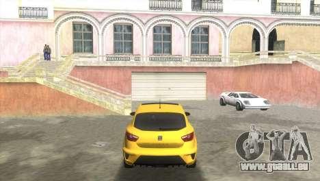 Seat Ibiza Cupra für GTA Vice City zurück linke Ansicht