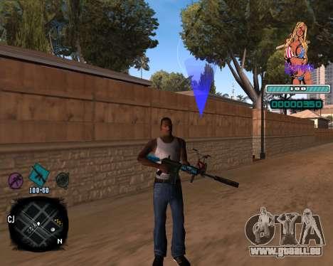 C-HUD Quintero pour GTA San Andreas
