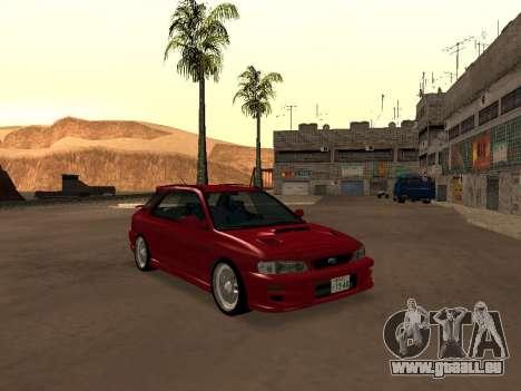 Subaru Impreza Wagon für GTA San Andreas