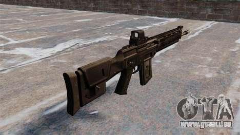 Fusil automatique SIG SG 751 pour GTA 4 secondes d'écran