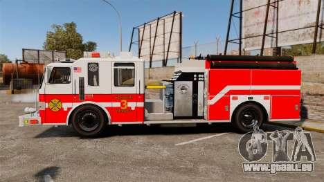 Firetruck Woonsocket [ELS] pour GTA 4 est une gauche
