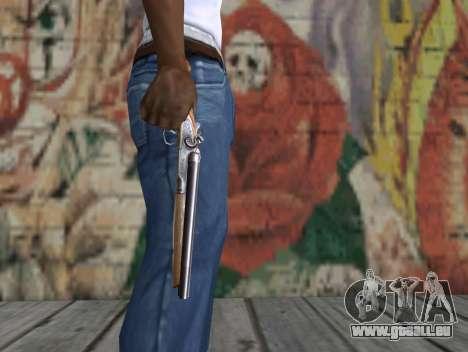 Eine abgesägte Schrotflinte aus einem Stalker für GTA San Andreas dritten Screenshot