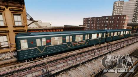Le chef du métro de wagon modèle 81-717 pour GTA 4 quatrième écran