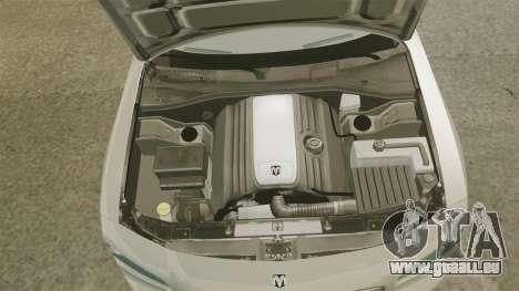 Dodge Charger SE 2006 pour GTA 4 est une vue de l'intérieur