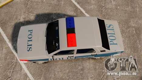 Renault 12 Turkish Police pour GTA 4 est un droit