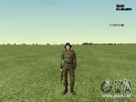 Panzerschütze für GTA San Andreas sechsten Screenshot