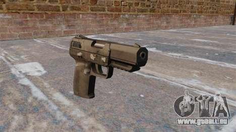 Ladewagen Pistole FN Five-SeveN MW3 für GTA 4