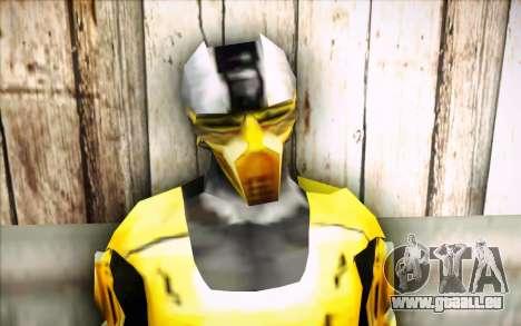 Cyrax pour GTA San Andreas troisième écran