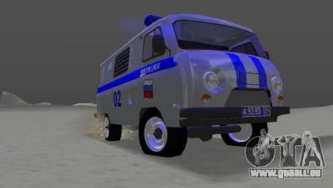 UAZ-3741 AUMONT pour GTA Vice City