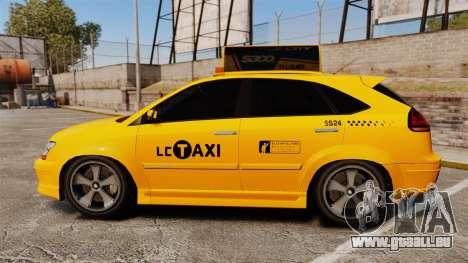Habanero Taxi pour GTA 4 est une gauche