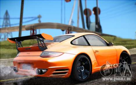 RUF RT12R pour GTA San Andreas laissé vue