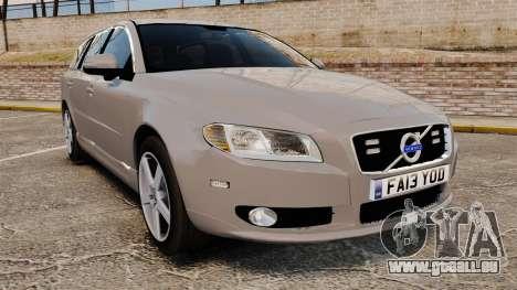 Volvo V70 Unmarked Police [ELS] pour GTA 4
