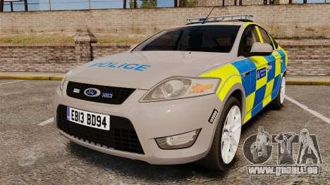 Ford Mondeo Metropolitan Police [ELS] für GTA 4