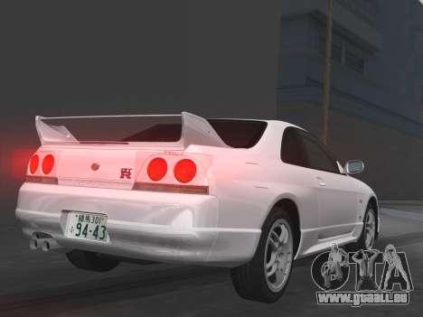 Nissan SKyline GT-R BNR33 für GTA Vice City Innen