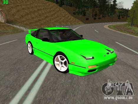 Nissan 240SX Drift Version für GTA San Andreas