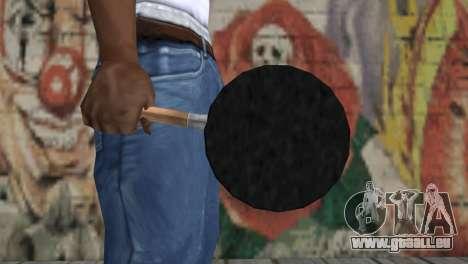 Poêle à frire pour GTA San Andreas troisième écran