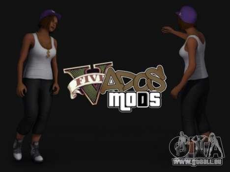 Pak peaux les filles pour GTA San Andreas deuxième écran