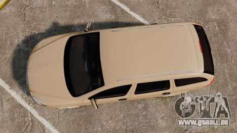 Skoda Octavia RS Stock pour GTA 4 est un droit