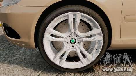 Skoda Octavia RS Stock pour GTA 4 Vue arrière