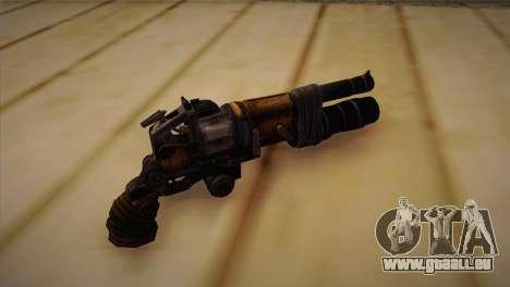 Le pistolet de Bulletstorm pour GTA San Andreas deuxième écran