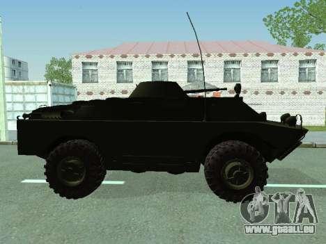 BRDM-2 für GTA San Andreas Rückansicht