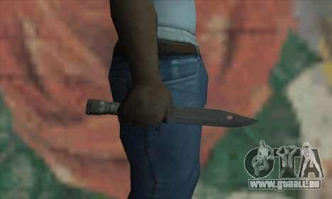 Knife für GTA San Andreas dritten Screenshot
