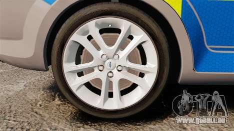 Ford Mondeo Metropolitan Police [ELS] pour GTA 4 Vue arrière