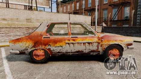 Renault 12 Toros v2.0 Rusty für GTA 4 linke Ansicht