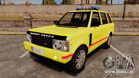 Range Rover Vogue Brannvesenet pour GTA 4
