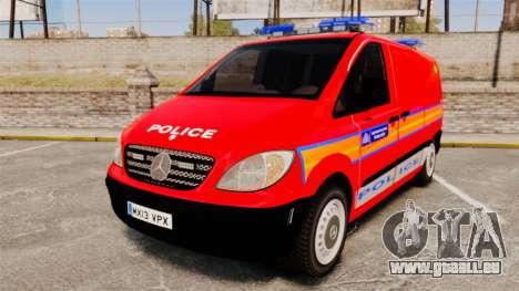 Mercedes-Benz Vito Metropolitan Police [ELS] pour GTA 4