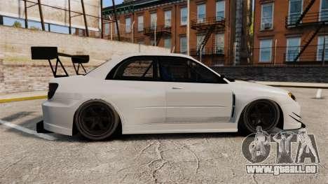 Subaru Impreza v2.0 pour GTA 4 est une gauche