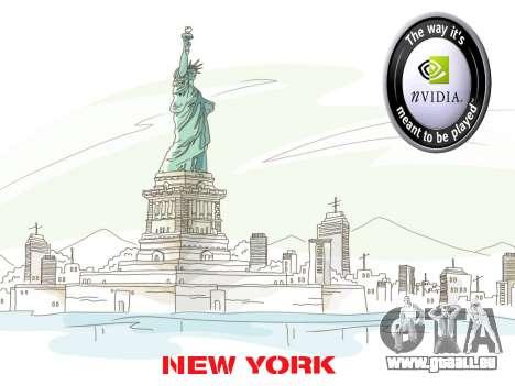 Loadscreens New-York pour GTA San Andreas troisième écran
