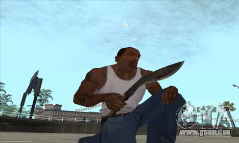 Kukri couteau-machette pour GTA San Andreas