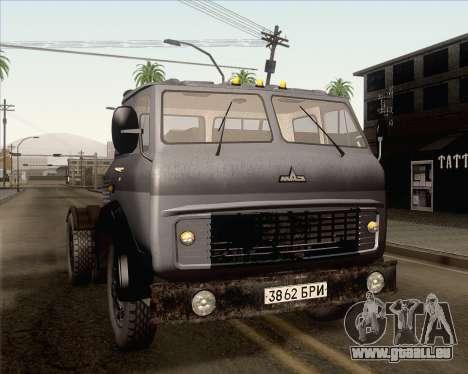 MAZ 5431 pour GTA San Andreas