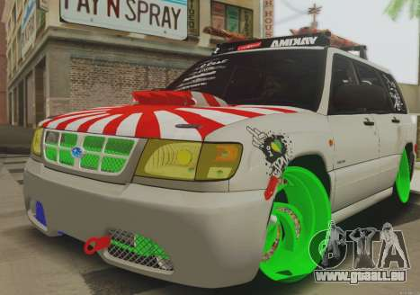 Subaru Forester JDM pour GTA San Andreas