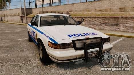 Vapid Police Cruiser v2.0 pour GTA 4