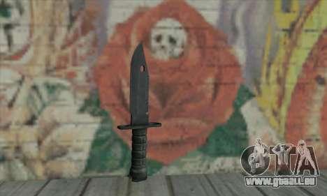 Knife für GTA San Andreas