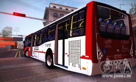 Caio Millennium II Volks 17-240 für GTA San Andreas zurück linke Ansicht