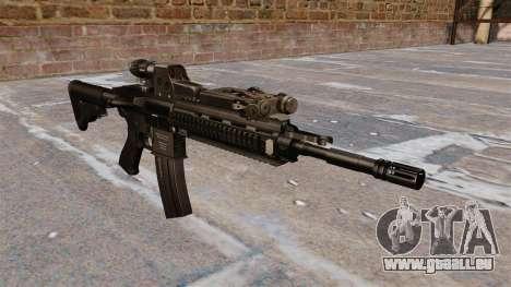 HK416 automatique pour GTA 4